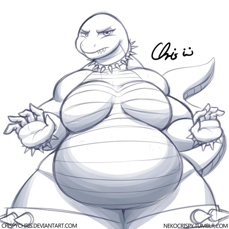 Kaiju Monster alt by NekoCrispy