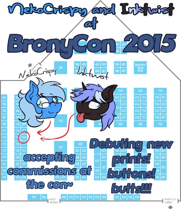 Bronycon 2015! by NekoCrispy