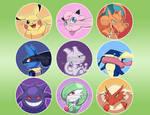 Pokemon Buttons~