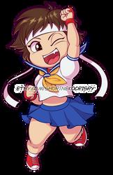 Sakura Sticker by NekoCrispy