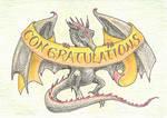 Draconic Congratulations