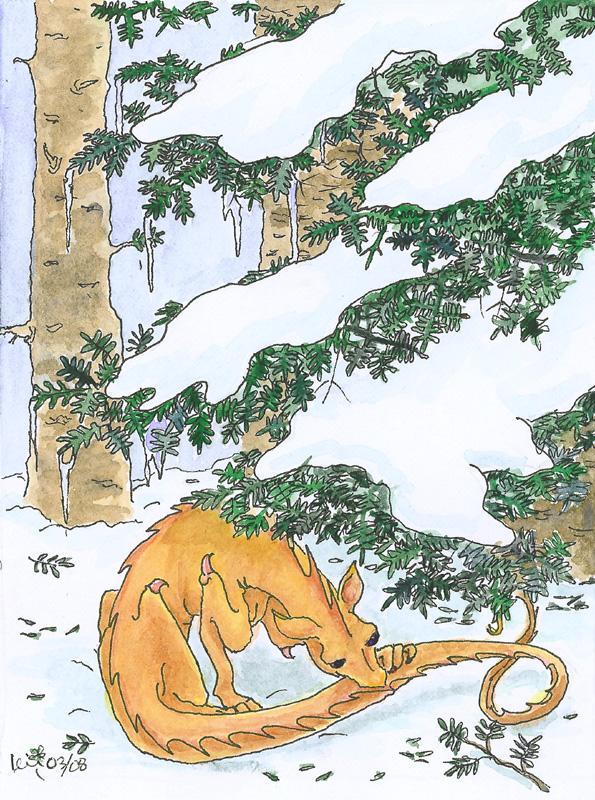 Snow Fleas by metasilk