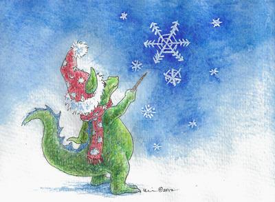 Winter Wizard by metasilk