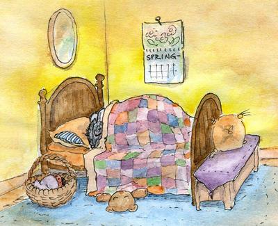 Hibernating Mouse by metasilk