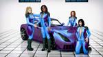 TVR Sagaris Girls 001