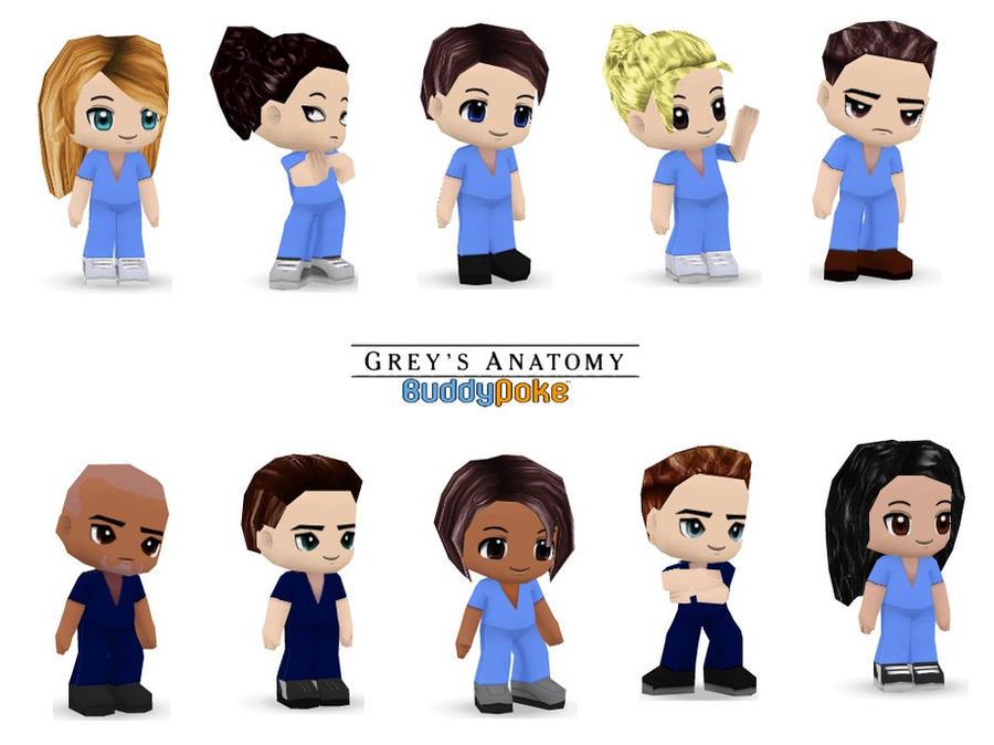 Grey\'s Anatomy - BuddyPoke by buddy-poke-club on DeviantArt