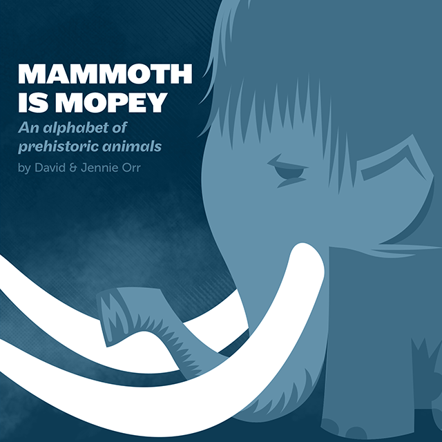 Mammoth is Mopey: cover art by anatotitan