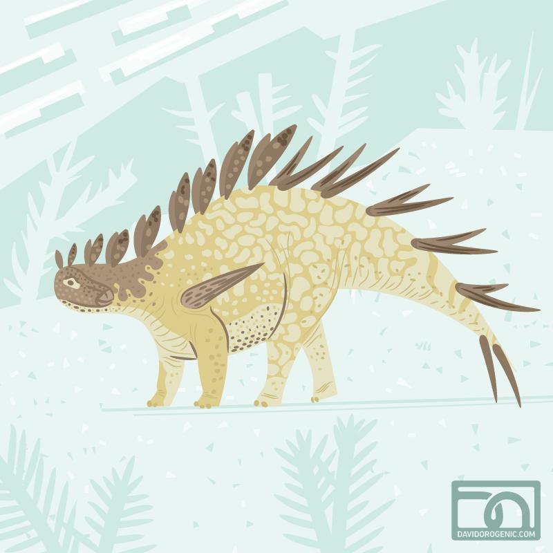 Kentrosaurus by anatotitan