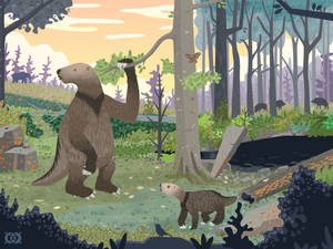 Ground Sloths of Ancient Indiana