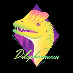 Very Retro Dilophosaurus