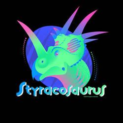 Totally Retro Styracosaurus