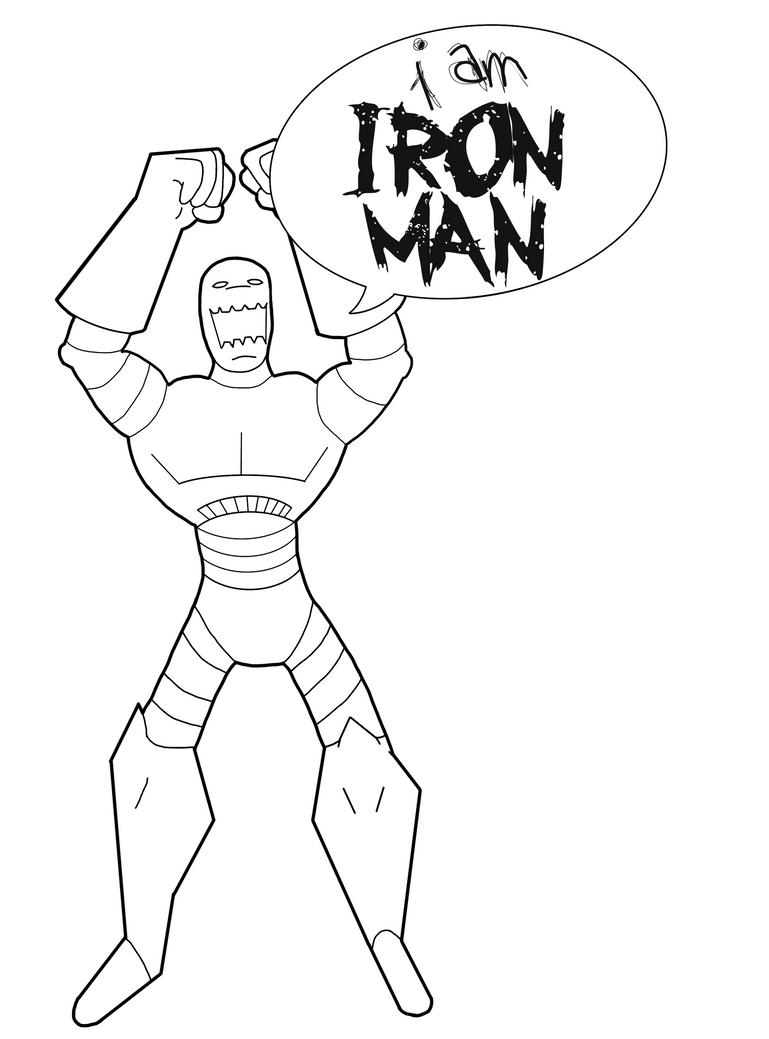 Dibujos Para Colorear De Iron Man ~ Ideas Creativas Sobre Colorear