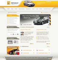 Websait for Renault licenser by Pazdan