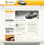 Websait for Renault licenser