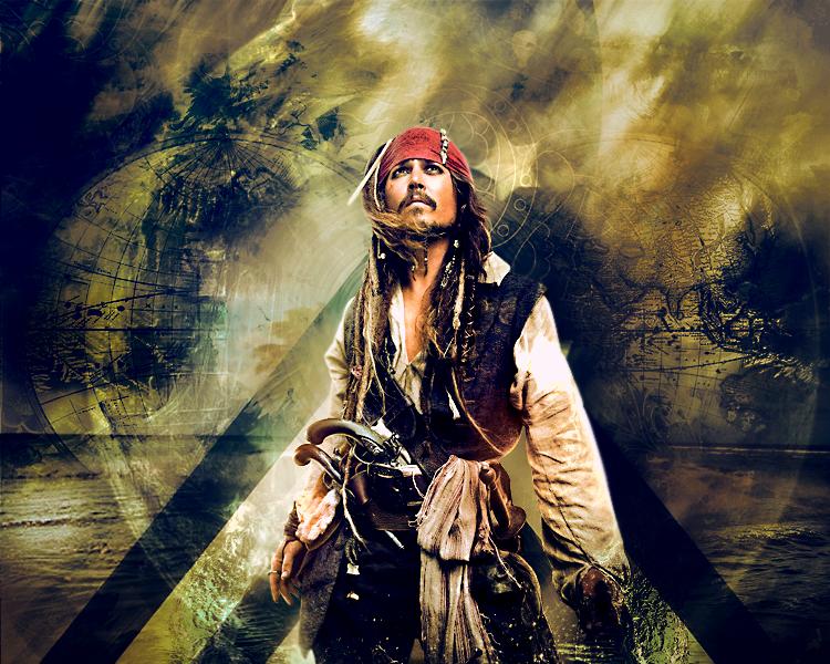 Jack Sparrow by karumene