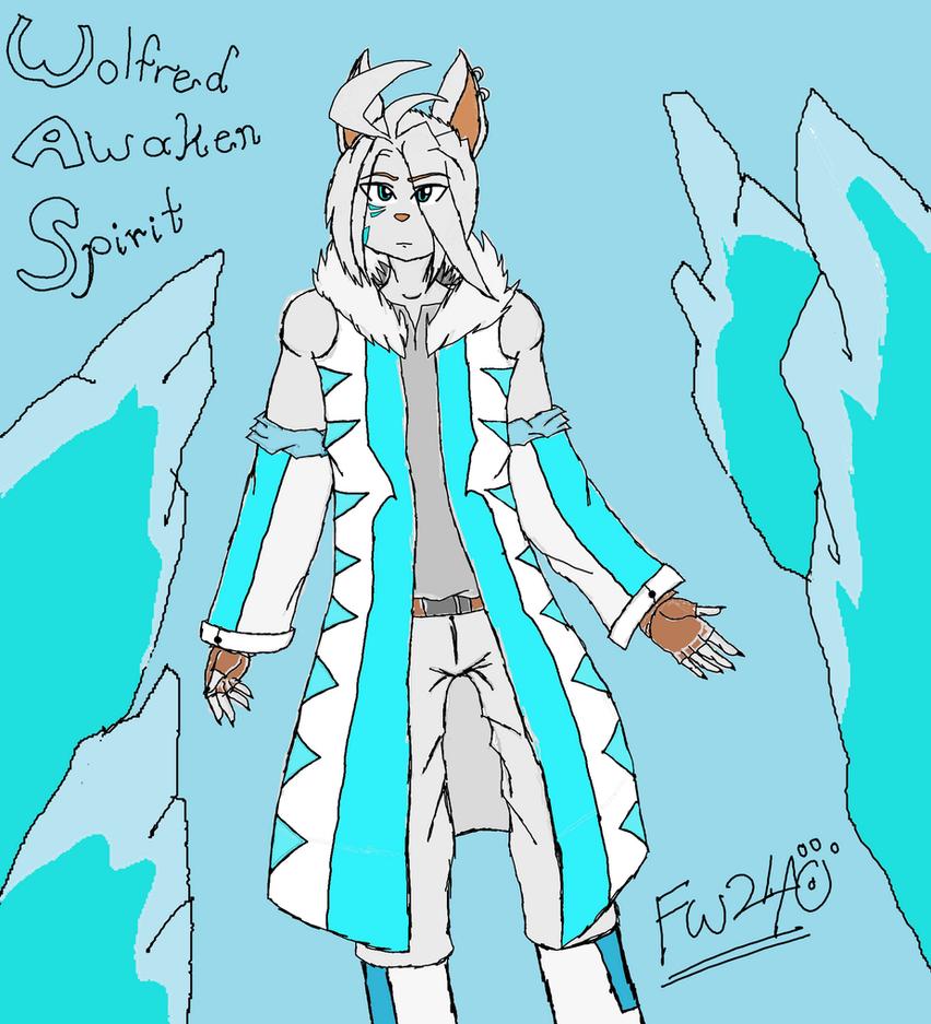 Wolfred Spirit Warrior Fantasy King Awaken by FirzanWolfred240