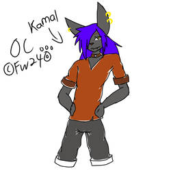Kamal OC  by FirzanWolfred240