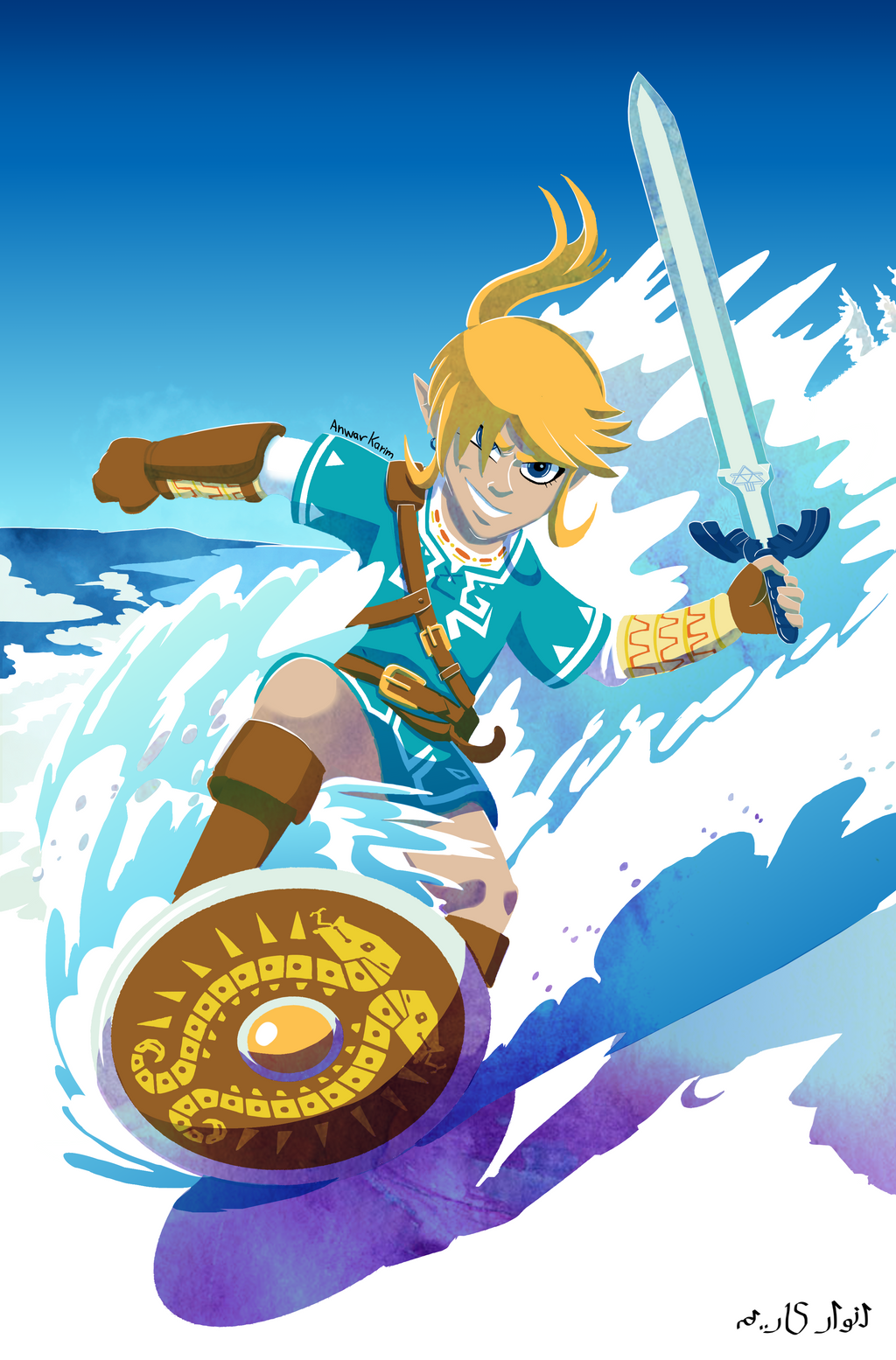 Breath Of The Wild By Zimagzeravla On