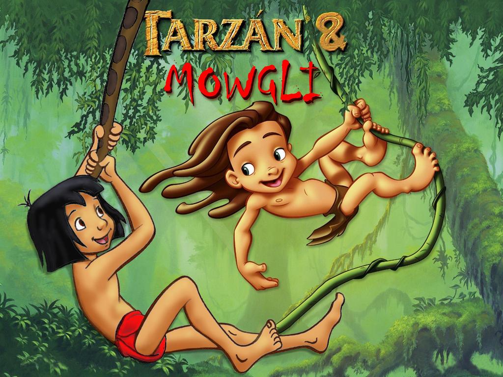 Порно приключение тарзанов в джунглях