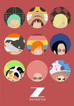 One Piece Film Z Minimalist Poster Ver.2
