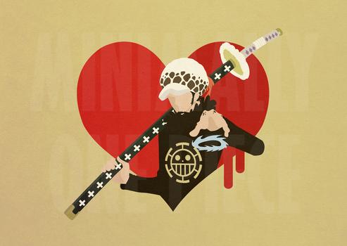 One Piece Minimalist Poster - Surgeon of Death