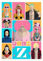One Piece's Film Z by MinimallyOnePiece