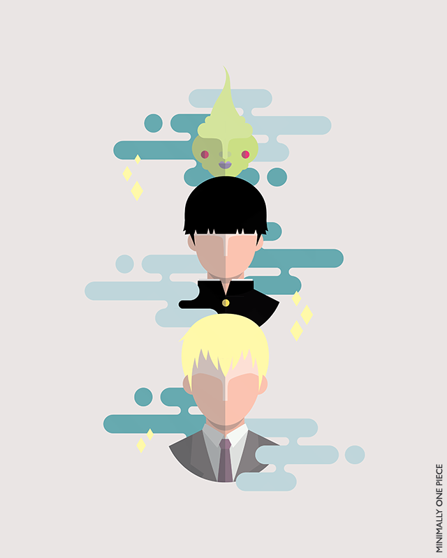Mob Psycho 100: Talk About Spirits Agency by MinimallyOnePiece