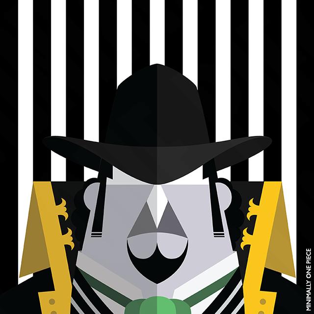 One Piece: Capone Bege by MinimallyOnePiece