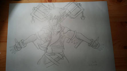 Sora - Kingdom Hearts II by Cio-Chou