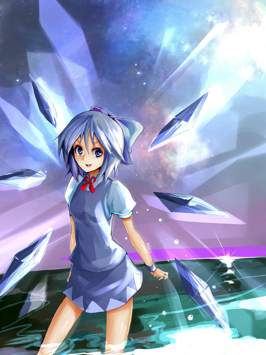 Cirno by patamy