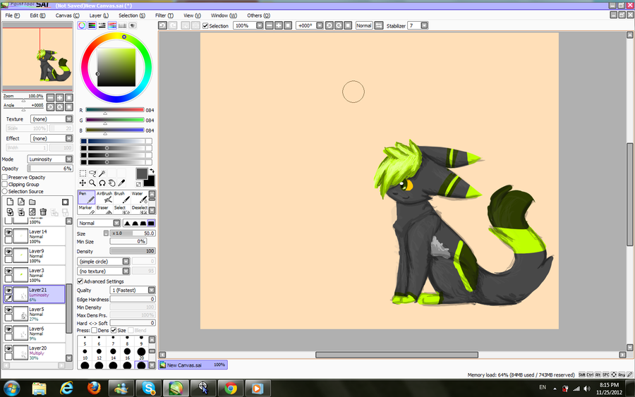 LOOOOK ITS LINELESS CRAP WIP! by CosmicTacos