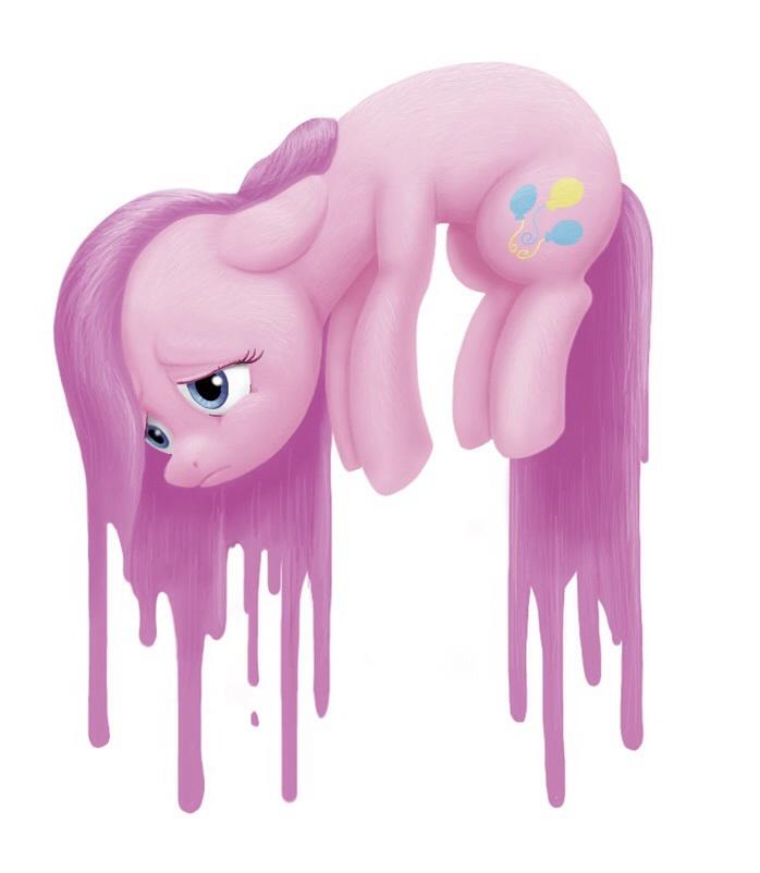 Sad Pinkie Pie by Marshmallow-eater