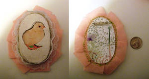 Storybook Chick Brooch 1 by miss-posy