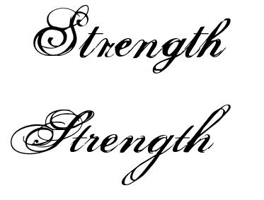 strength tattoo by sarakennedy on DeviantArt