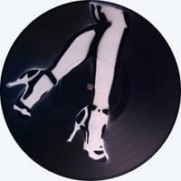 vinyl: shoes stencil by sarakennedy