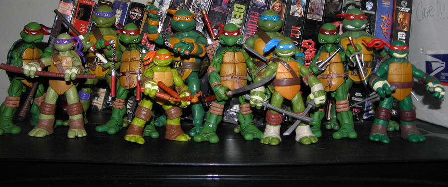 Teenage Mutant Ninja Turtles by KickoBang