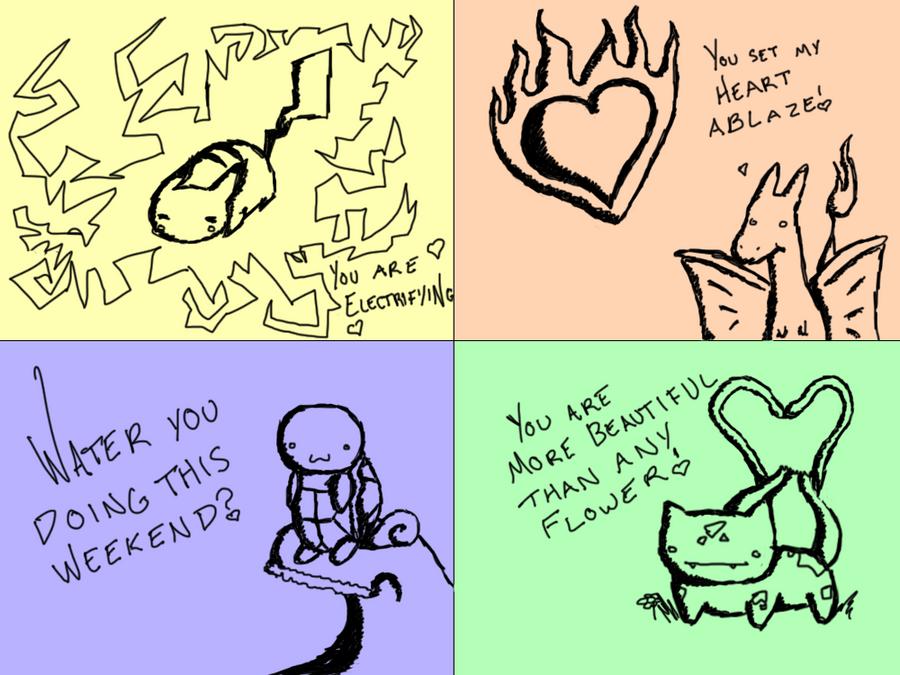 Pokemon Valentines By Nose Nomer ...