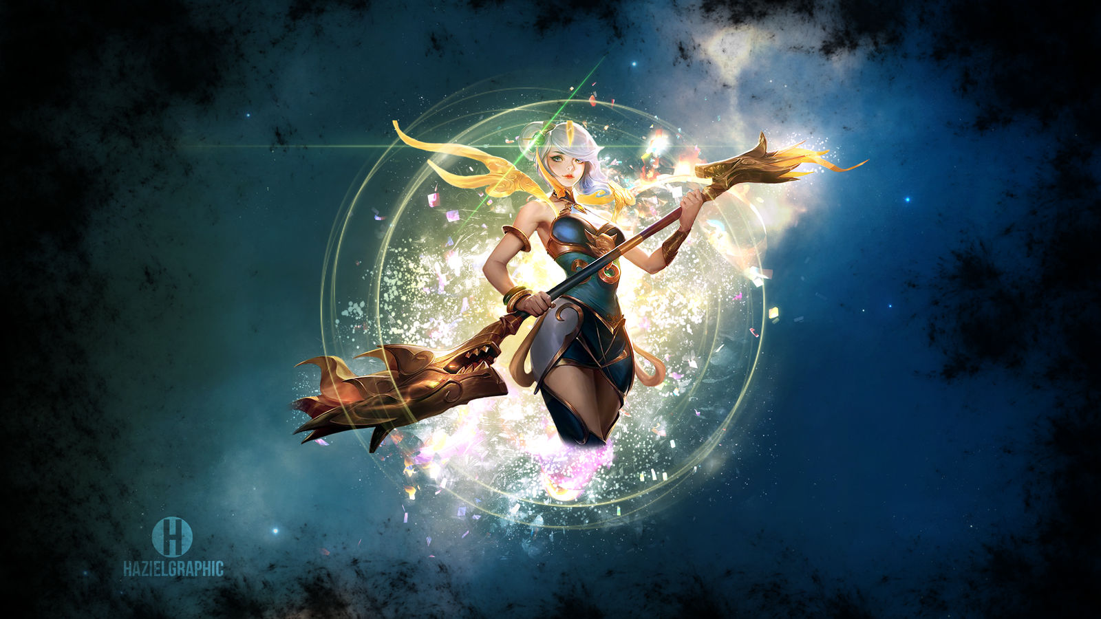 Lunar Empress Lux Wallpaper League Of Legends By Hazielwishmaster