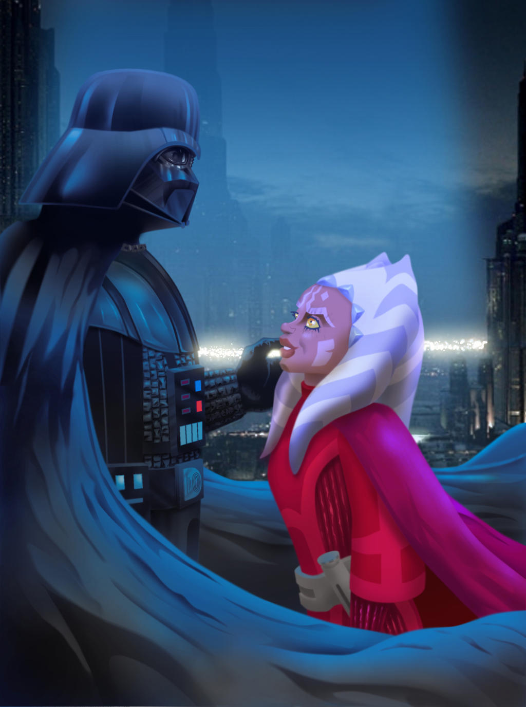 Ahsoka Tano - Welcome to the Dark Side by darthziggy on
