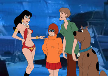 Scooby-Doo meets Vampirella