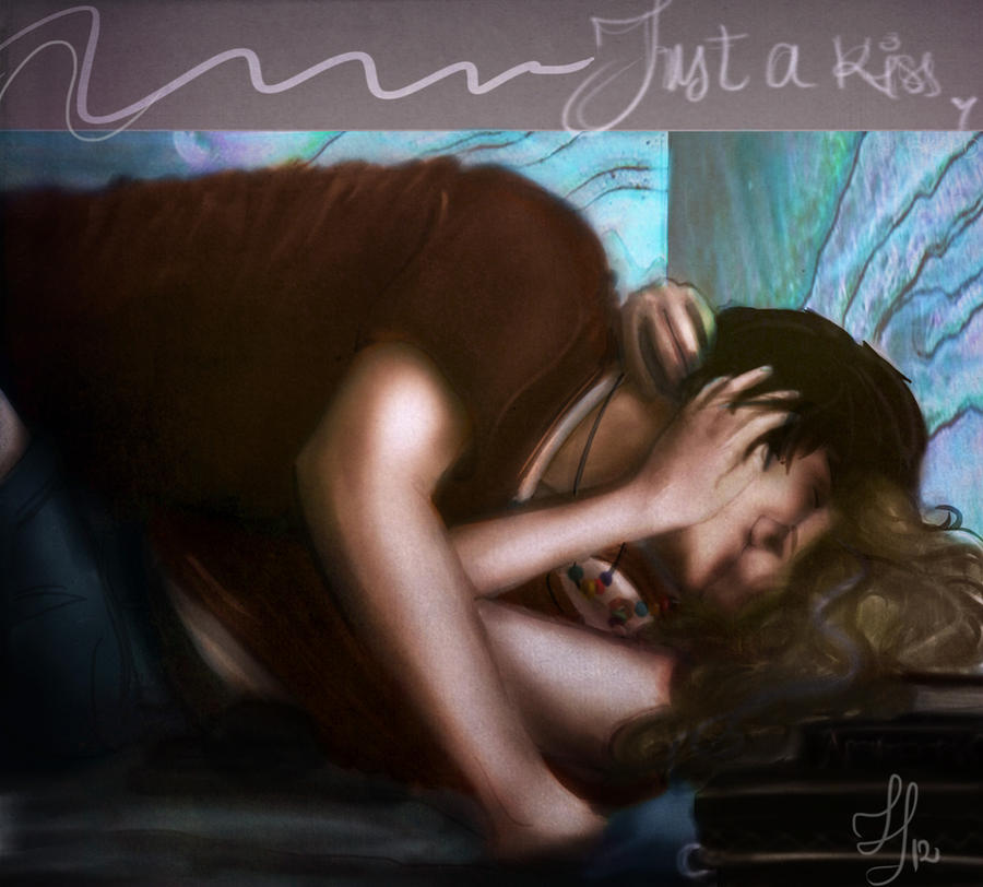 Just a Percabeth kiss by SmarsPD