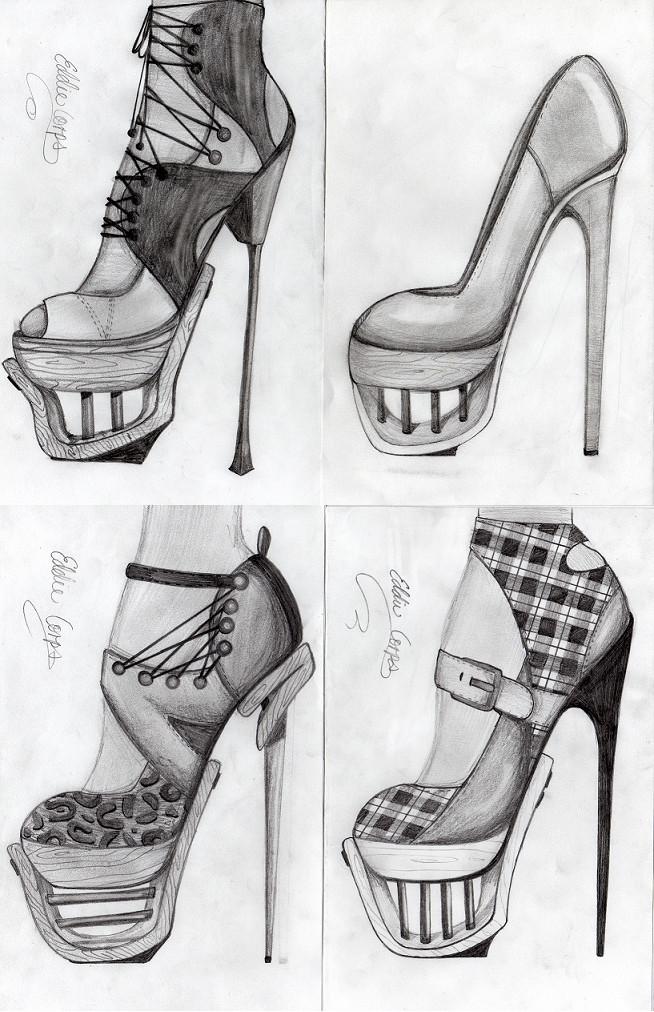 high heels by spb8z3 on DeviantArt