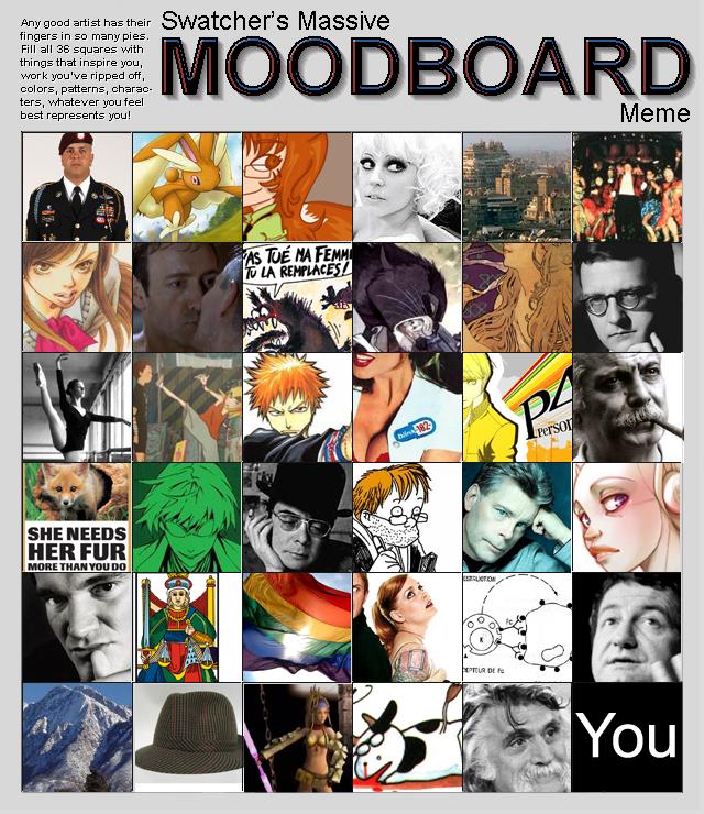 Mooooooodboard by Mat-el-Tea