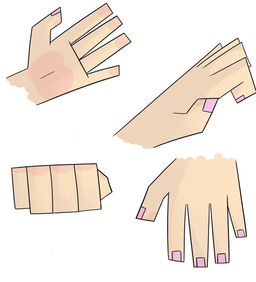 hand practice by mapleBOOM