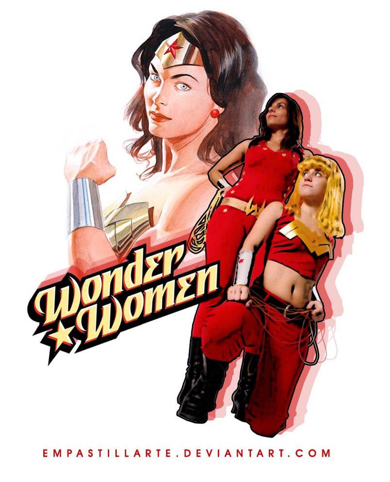 Wonder Women by empastillart by JLUClub