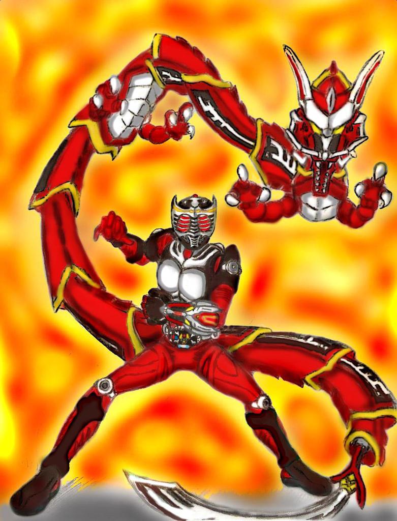Kamen Rider Ryuki Final Vent. by GrandZebulon on DeviantArt
