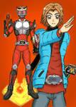 Kamen Rider Ryuki.