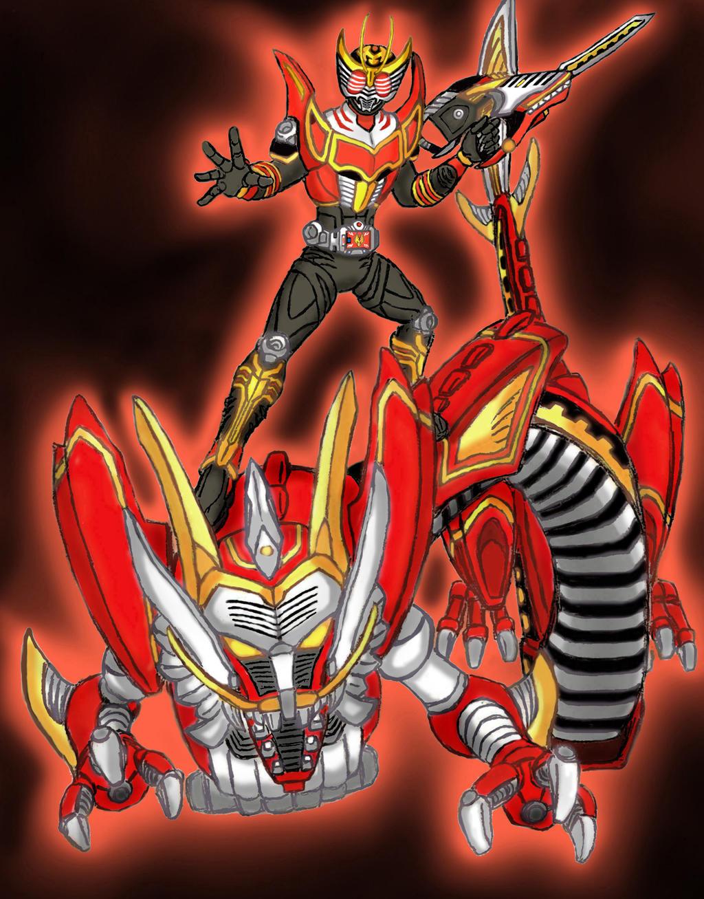 Kamen Rider Ryuki Survive. by GrandZebulon on DeviantArt