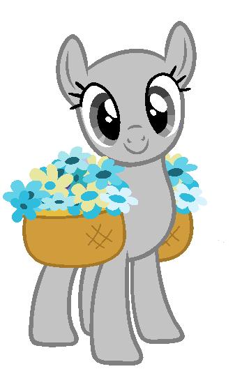 mlp base earth pony by flamingboltmc on deviantart