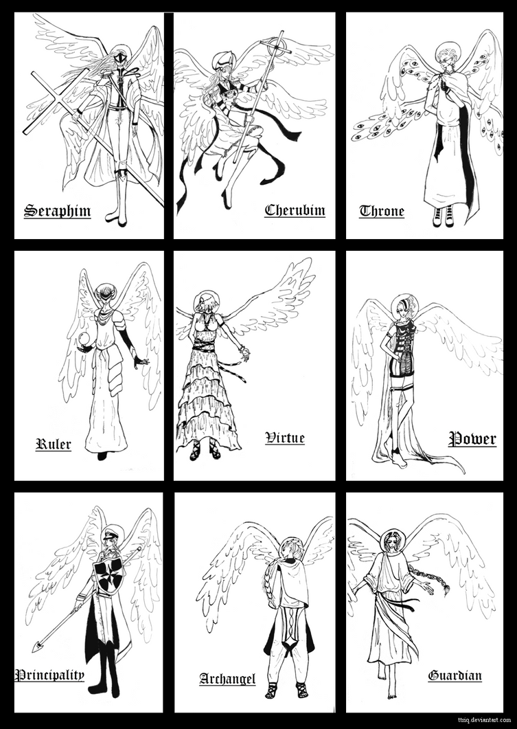 Angelic Ranks: Description, Hierarchy, and How Different Types Different From Each Other 5